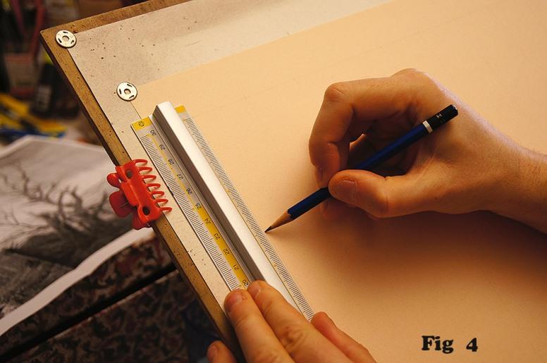 Tavolo Da Disegno Artistico : Realizzare un disegno di paesaggio fantastico a sanguigna « colori